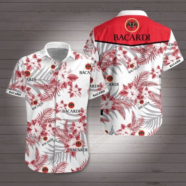 Bacardi Hawaiian Shirt