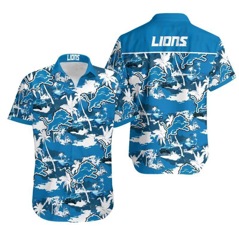 NFL Detroit Lions Tommy Bahama Hawaii Shirt