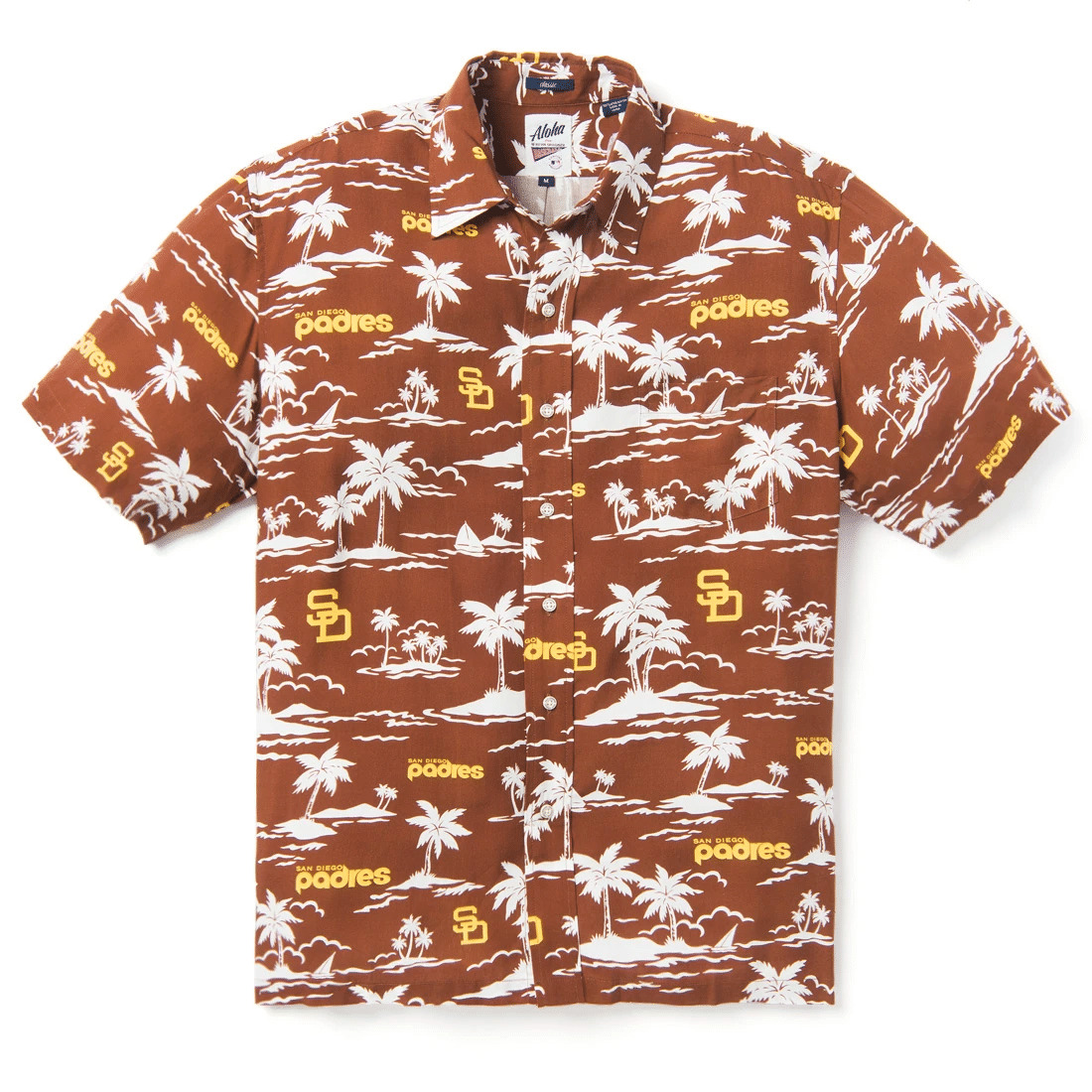 San Diego Padres Vintage MLB Hawaiian Shirt