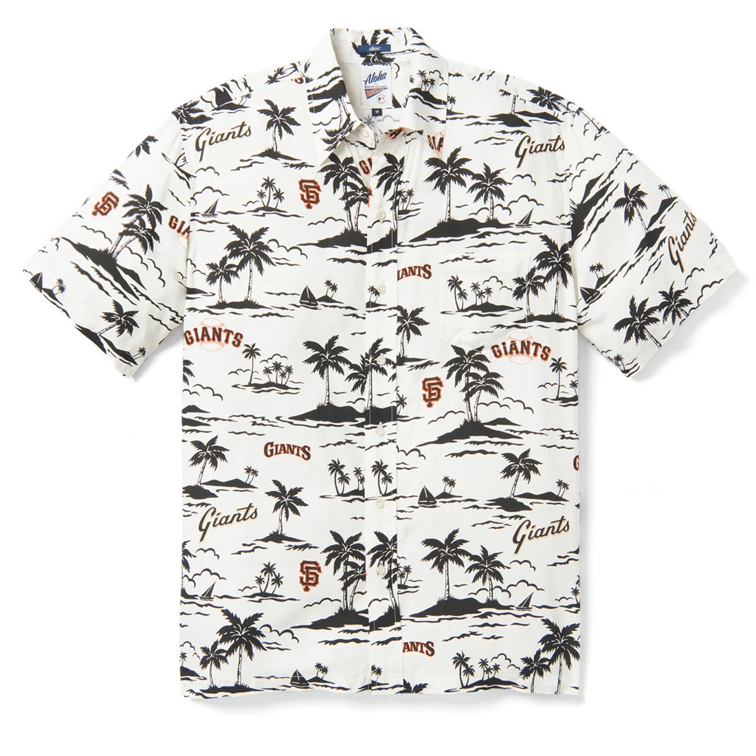 San Francisco Giants Vintage MLB Hawaiian Shirt